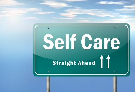 Highway Signpost Self Care